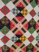 Detail from Primitive Quilts quilt