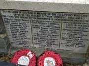 Lodie Coldstone war memorial
