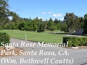 Santa Rosa Memorial Park, Santa Rosa, CA (W.B. Coutts)
