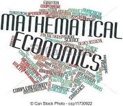 ECO406 Mathematical Economics