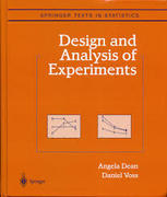 STA408 Design and Analysis of Experiments