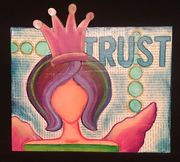 Trust Mixed-Media Canvas