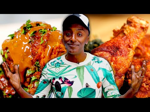 How To Make 2 Styles Of Fried Chicken By Marcus Samuelsson • Tasty