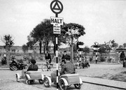 Lordship Park Model Traffic Area, 1947