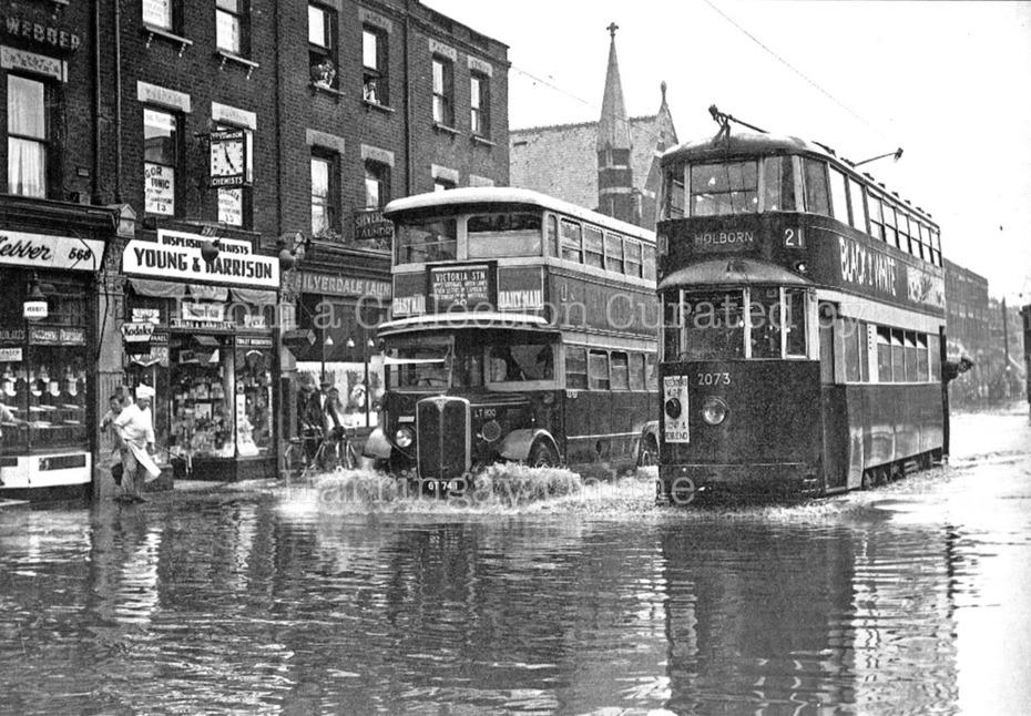 Green Lanes Flood, 1937
