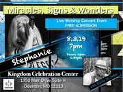 Miracles, Signs and Wonders LIVE Worship Concert