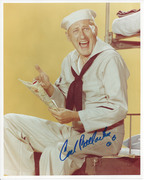 Carl Ballantine McHale's Navy 8x10 Signed photo $49