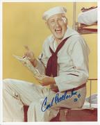 Carl Ballantine McHale's Navy 8x10 Signed photo