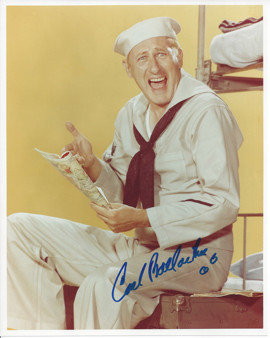 **SOLD** Carl Ballantine McHale's Navy 8x10 Signed photo $49