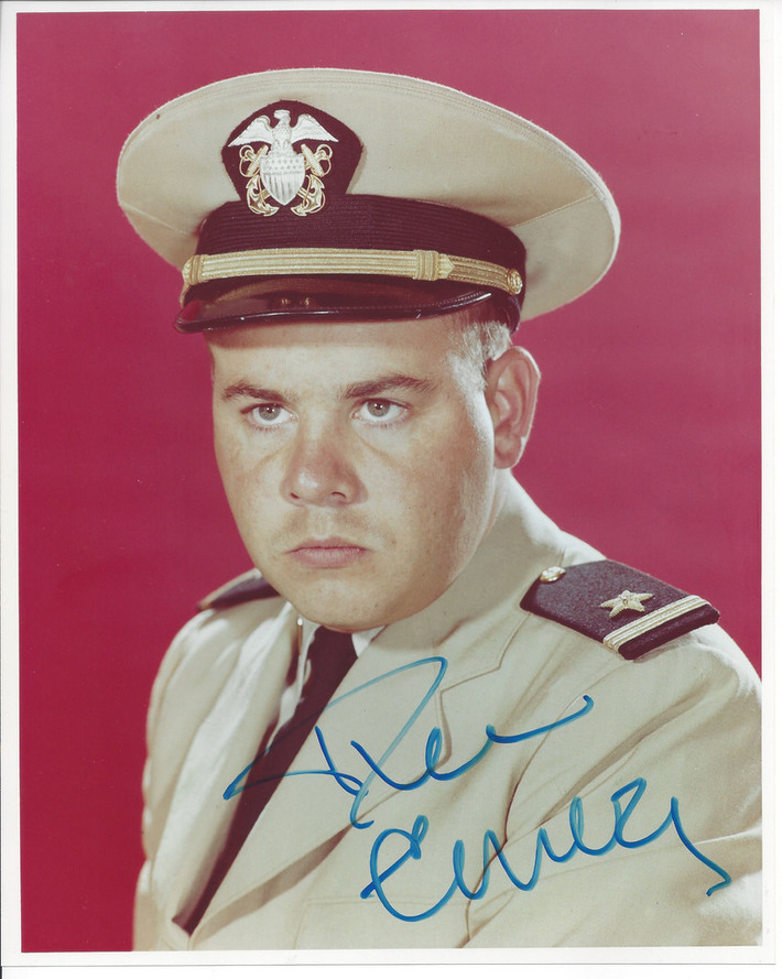 **SOLD** Tim Conway Signed McHale's Navy 8x10 Photo $49