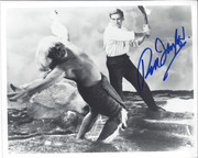 "Rod Taylor  Signed ""The Time Machine"" 10x8 Photo"