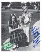 SELL-Dennis the Menace North & Russell 8x10 Signed Photo $29