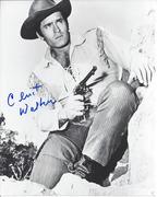 SELL-Clint Walker Cheyenne Signed 8x10 Photo $49