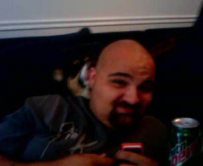 Bald head lick