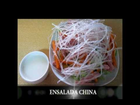 ENSALADA CHINA // CHINESE SALAD