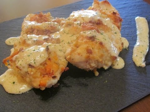 Pollo crujiente con queso // Crispy Chicken with cheese
