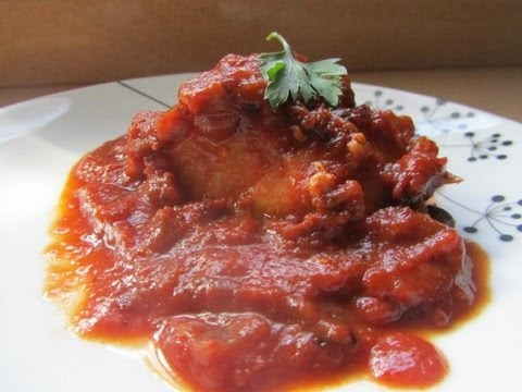 BACALAO CON TOMATE // COD WITH TOMATO