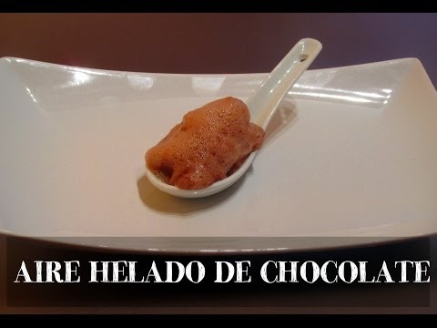 AIRE HELADO DE CHOCOLATE