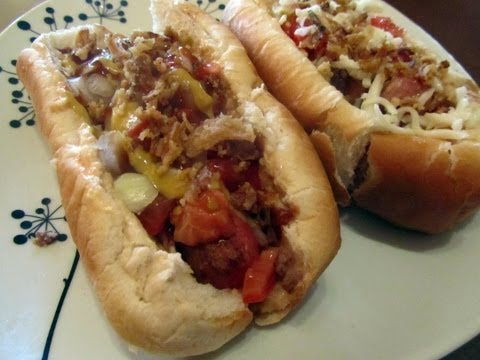 "HOT DOG "" MAN VS FOOD"""