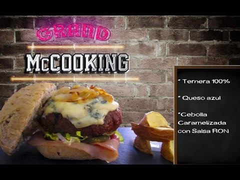 HAMBURGUESA GOURMET GRAND McCOOKING