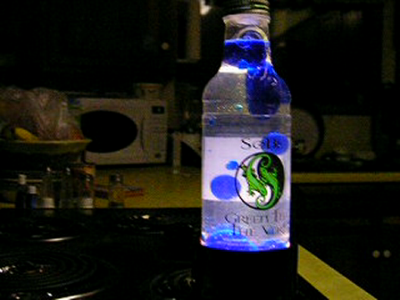 G-Force :  my first home-made lava lamp!!!!!