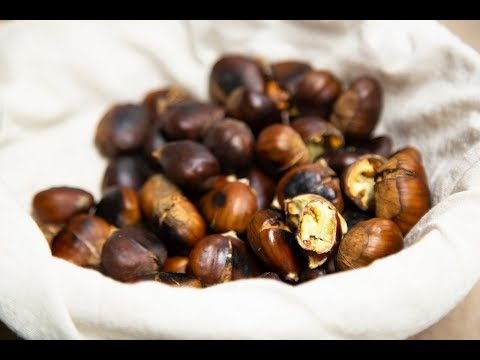 Cómo ASAR CASTAÑAS de 2 FORMAS DISTINTAS FÁCILES, How to roasted chestnuts