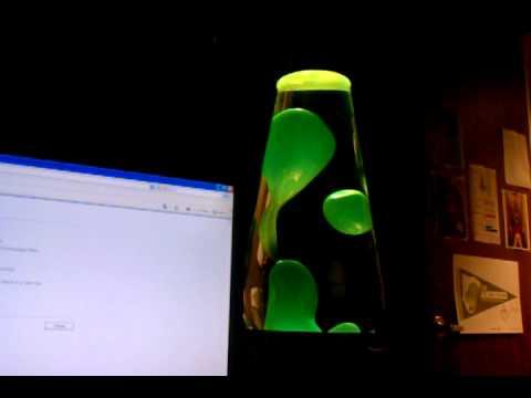 Lava Lamp with Goo Kit - Green