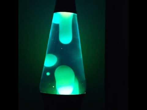 Midnight Blue & White Lava Lamp