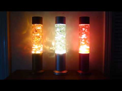 Autumn, Winter, and Spring Custom Glitter Lamps