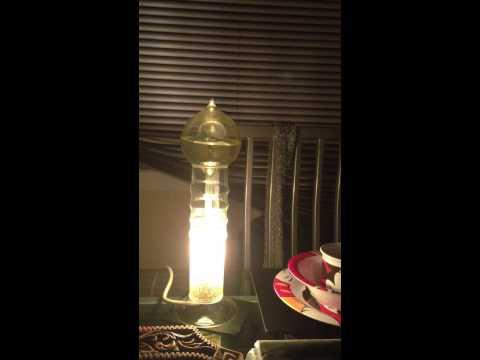 old boiler lamp