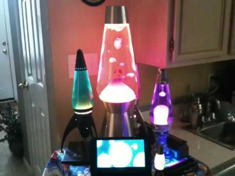 My Lava Lamp Collection