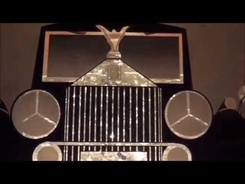 The Rolls Royce Glitter Graphic Lamp