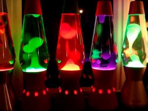 Mathmos - Lava Flows 18 - 19x Mathmos AstroLava Lamps In Full Flow.