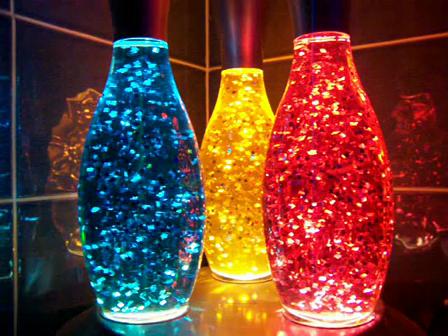 Skittle Lava Lamps