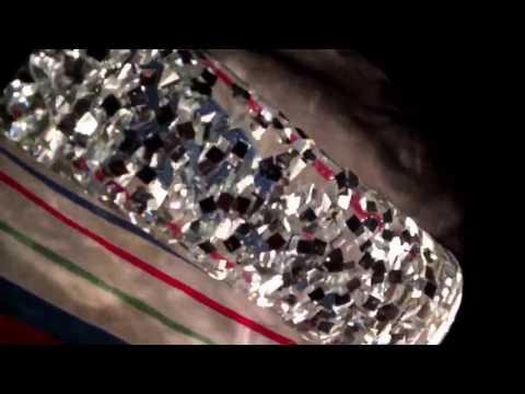 Custom Clear Living Jewel in Jet Lamp