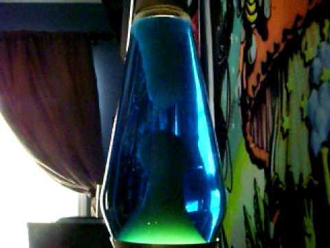 "Gold ""Century"" Lava Lamp"
