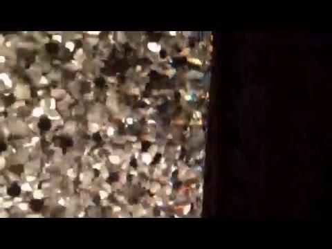 Lunar with Fast Clear Medium Silver Hex Glitter
