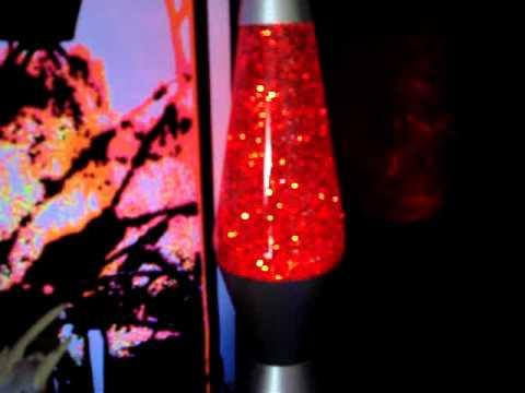 Red Vortex Glitter