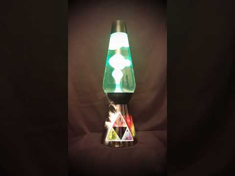Custom Color Changing Pink Floyd Dark Side of the Moon Lava Lamp