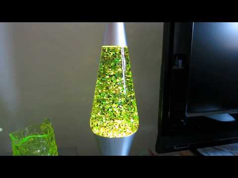 32oz converted lava lamp bottle to glitter