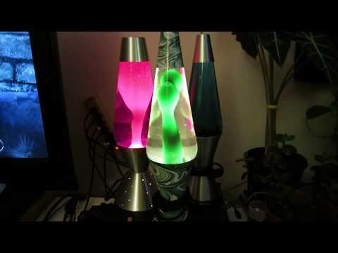 Lava Lamp #121D and #12 Swirl