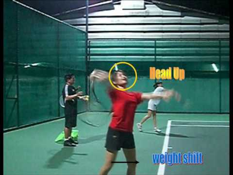 Tennis Lesson:  How to Serve