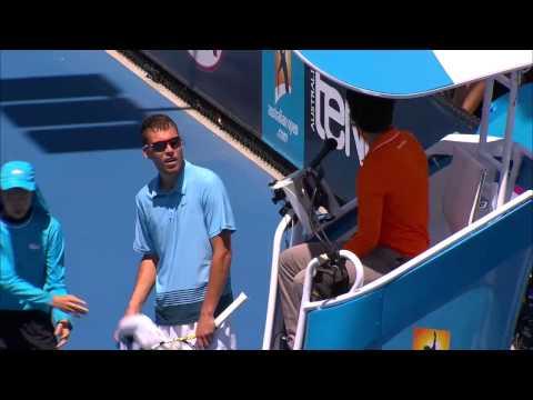 Jerzy Janowicz Meltdown - Australian Open 2013