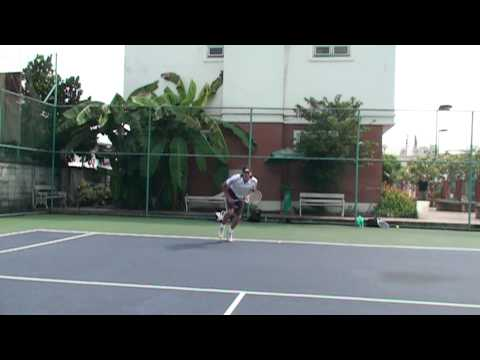 Hawaii Tennis Pro Presents: Super SLow Motion Kick Serve