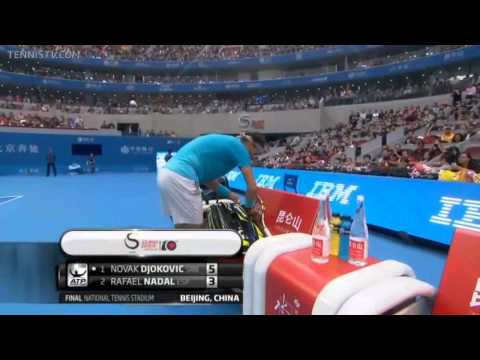 Nadal vs Djokovic China Open 2013 Final