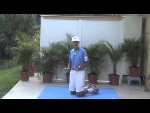 Roger Federer Tennis Workout by TomAveryTennis.com