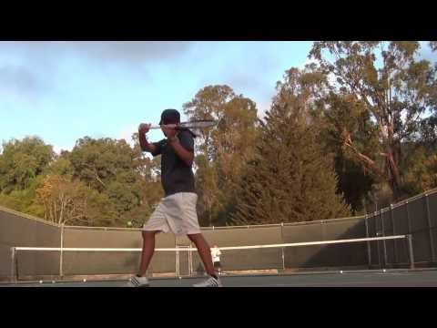 My backhand and forehand derived from Gasquet, Kuerten and Djokovic mechanics #1
