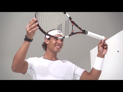 Rafa Nadal talks about Babolat Play #connectedtennis