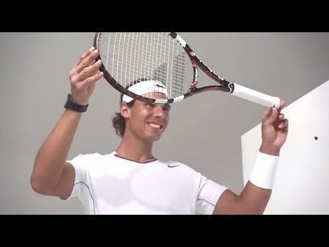 Rafa Nadal talks about Babolat Play #connectedtennis