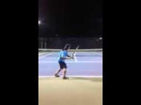 Nadal forehand demo 2014